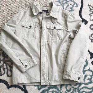 Banana republic Mens Nylon Cotton tan jacket